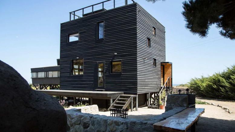 Кубический дом в Чили