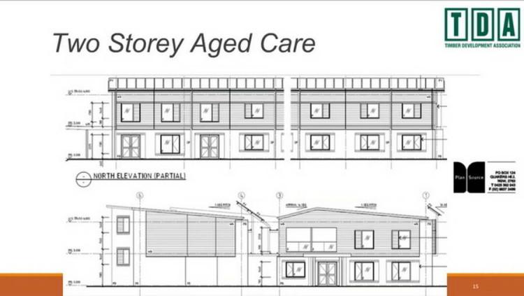 Центр по уходу за пожилыми людьми © TDA