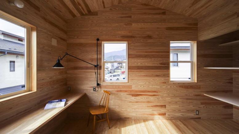 Деревянный дом в Японии 2