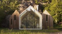 Деревянная дача в Норвегии