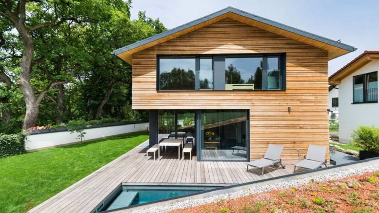 Дом для одной семьи (Einfamilienhaus) в Германии от Despang Schlupmann Architekten