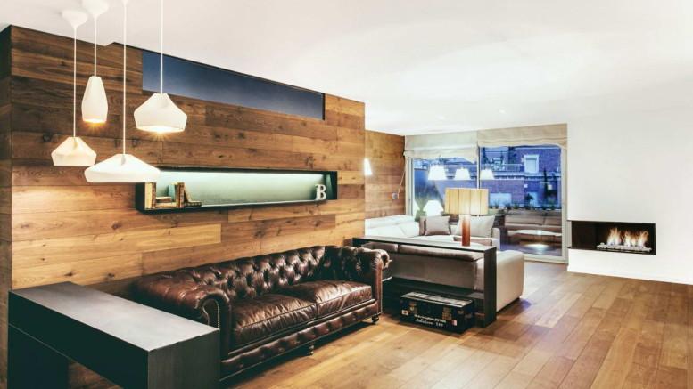 Деревянный интерьер квартиры 2