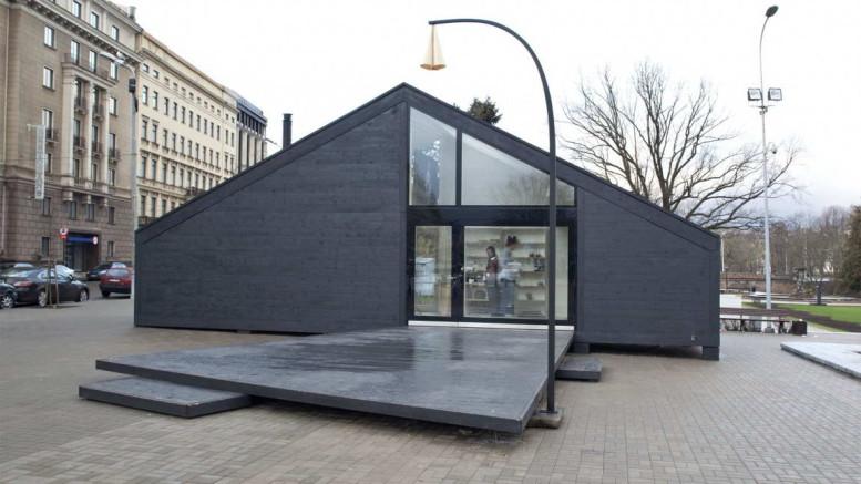Проект модульного дома-дачи