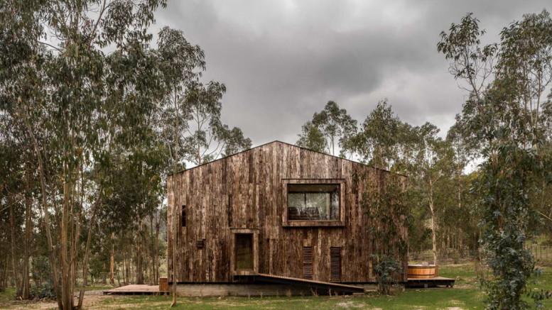 Деревянная дача в Чили 2