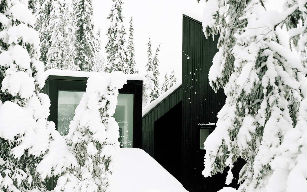 Лесная дача в Норвегии