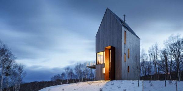 Лесной домик в Канаде
