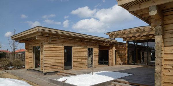 Деревянный дом в Тверской области