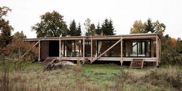 Деревянная дача в Германии